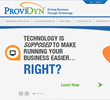 ProviDyn Launches New, Interactive Website Built for Customer Service...