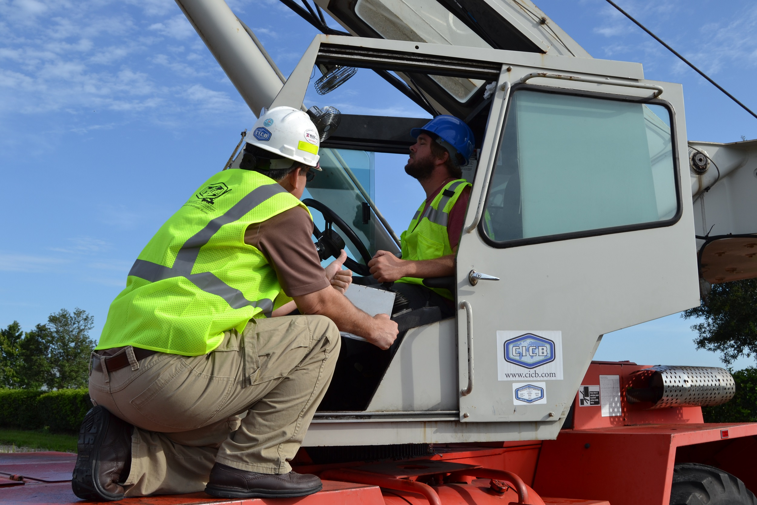 CICB Announces Crane Operator Certification Training and