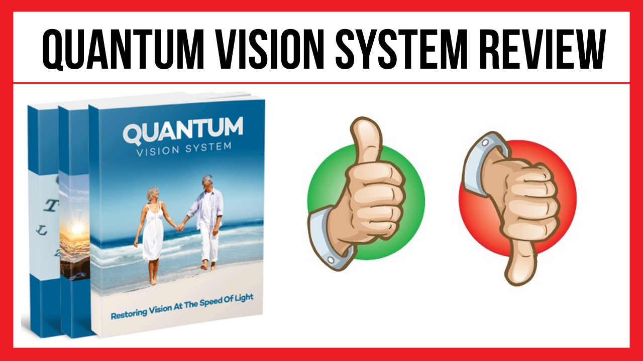 Quantum Vision System Restore your 20/20 vision with simple technique Learn on t