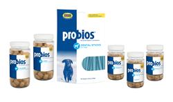 Probios Chews and Dental Sticks with yogurt