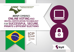 ARISP online elections leverage Scytl online voting and digital certification technolgy