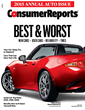 Domestic Cars Clinch Three Spots in Consumer Reports' Top Picks List...