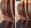 The Right Hair Color Technique with Highlights Lowlights or Dimensional Color Blocking