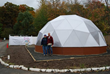 Richard and Janet Miller - Growing Spaces employees who helped build the Growing Dome