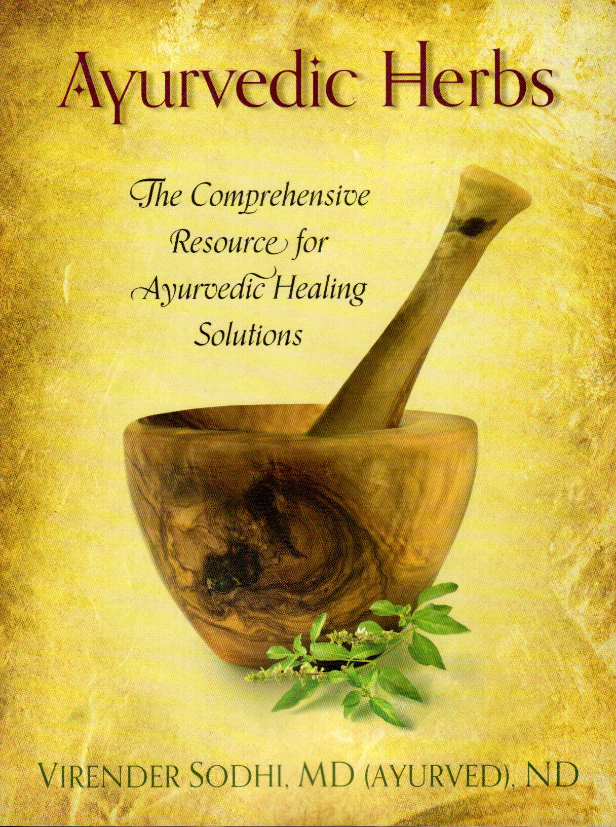 Business Book Cover History : New book 'ayurvedic herbs offers complementary resource