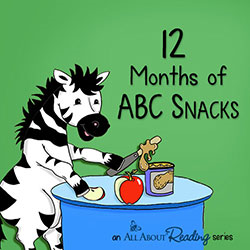 All About Reading, Pre-reading, ABC Snacks, Marie Rippel