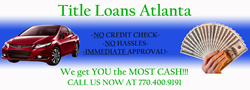 Atlanta title loan company