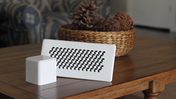 Picture of Linq Home Smart Vent and Brain on Wooden Coffee Table
