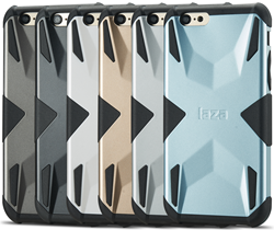 Laza X Armor is available in 6 brilliant metallic finishes.