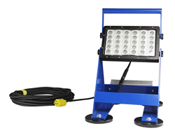 Pedestal Mounted LED Work Light with 25' Cord