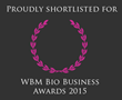 Hydro Dynamics Named to Shortlist for 2015 World Bio Markets Award for Excellence in Advanced Biofuels