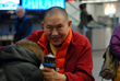 HE Garchen Rinpoche arriving in Seattle, 2013. Photo by Katia Roberts.