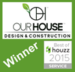 Our House LLC Best of Houzz Award