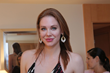 Maitland Ward tries on Shaftel Diamonds Jewelry