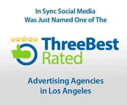 In Sync Social Media One of the Three Best Rated Advertising Agencies in Los Angeles