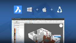 BricsCAD V15 on Windows, Mac and Linux
