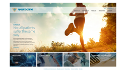 eMagine delivers new website for Neurocrine Biosciences, Inc.
