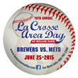 Winning Charity to Throw Out First Pitch at Annual La Crosse Area Day...