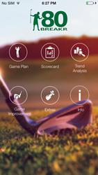 80breakr golf scorecard and game improvement app