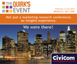 Civicom Joins the Quirk's Event 2015