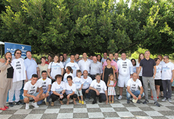 Staff and students of Narconon Gabbiano in southern Italy