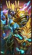 Heroes Charge - Lightning Elemental