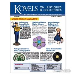 kovels, antiques, collectibles, tractor seats, elvis, fashion dolls, majolica, coca-cola