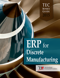The TEC 2015 ERP Software Buyer's Guide for Discrete Manufacturing sheds light on where manufacturers are planning to make their technology investments.