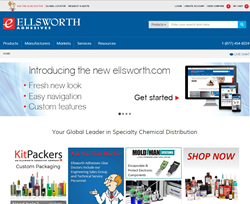 Ellsworth Adhesives New Website