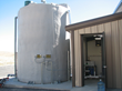 Automated Chlorination Skid and Shed with Storage Tank