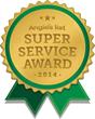 Somerville Aluminum Earns Esteemed 2014 Angie's List Super Service Award