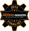 PartnerTech Named a Finalist for Gwinnett County Chamber of Commerce 2015 Movers & Makers Award