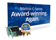 Matrox C-Series Multi-display Graphics Cards Honored with AV...