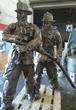 Spring Texas Fire Department Receives Completed Firefighter Statue...