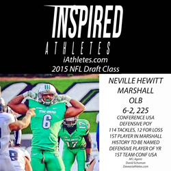 Neville Hewitt Marshall Football NFL