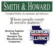 Georgia Manufacturing Alliance Receives Increased Sponsorship from Smith and Howard for 2016