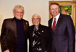 Ron Kendall, Harold Kendall and Larry Thompson (L-R) at Selby Gallery