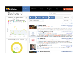 Image of Critical Mention Media Monitoring Dashboard