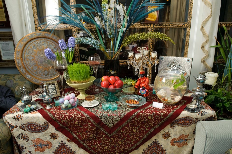Celebrate the persian new year at arya global cuisine for Arya authentic persian cuisine