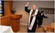 Cardinal Dolan blesses the chapel.
