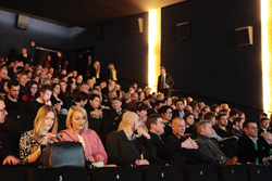 Lots of people in a cinema