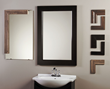 New Mirror Frame Moldings from WoodTrac Give Dated Bathrooms a Fresh...