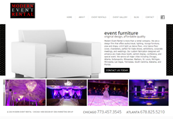 Modern Event Rentals of Chicago Launches Updated Web Presence