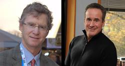 David Ulich and Dr. Steven Ungerleider