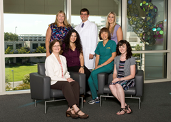 UC Davis Huntington's Disease Center staff