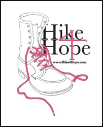 Sunday, March 1, 2015 the Hike4Hope will benefit research to eradicate Women's Cancers