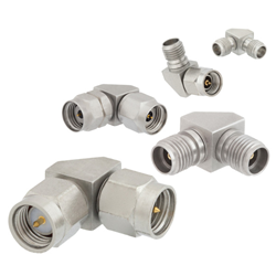Microwave and Millimeter Wave Right Angle RF Adapters from Pasternack