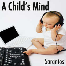 Sarantos song artwork pic solo music artist new pop free cd music release A Child's Mind Feed My Starving Children
