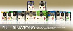 Full Line of Ringtons 12 Teas