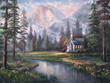 The Thomas Kinkade Company Announces the Release of Yosemite Painting,...